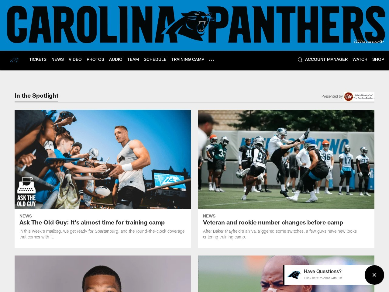 Panthers OTA Observations: Day 10