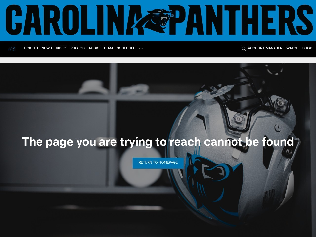 Panthers embark on USO/NFL tour to Germany