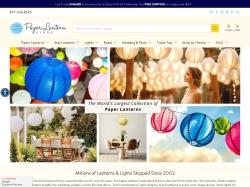 Paper Lantern Store screenshot
