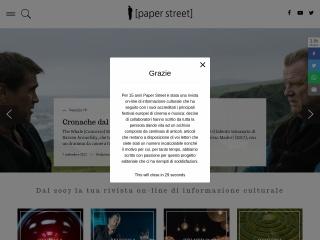 screenshot paperstreet.it