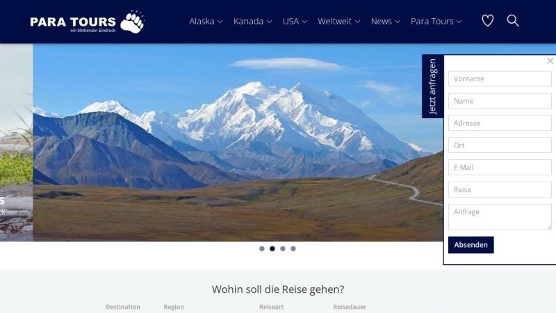www.para-tours.ch Vorschau, Para Tours