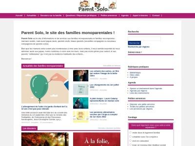 Parent-Solo.fr : le portail des familles monoparentales