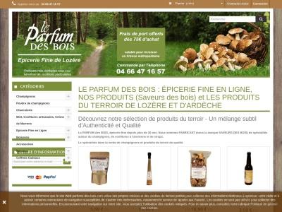 Parfums-des-Bois.com - Epicerie Fine en ligne