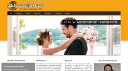 www.party-discjockeys.de Vorschau, Party Discjockeys