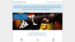 www.partymat.de Vorschau, Partymat GbR - Onlineagentur