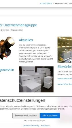 Vorschau der mobilen Webseite www.partyteufel.de, Partyteufel