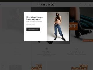 Captura de pantalla para paruolo.com.ar