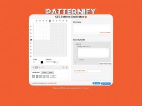 Patternify | A CSS Pattern Generator