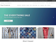 Paul Fredrick MenStyle coupon code