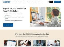 Paychex screenshot
