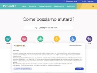 screenshot pazienti.it