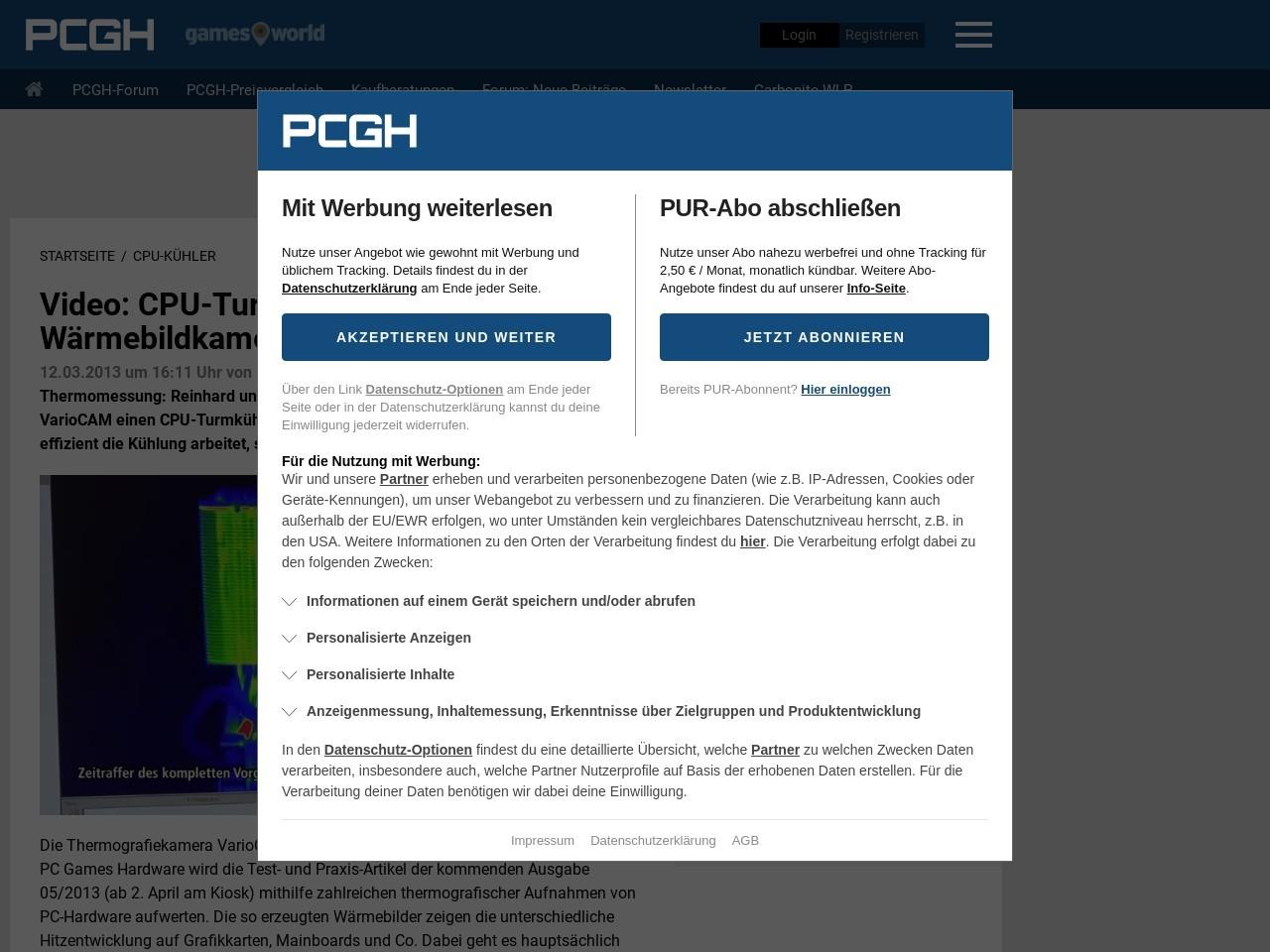 Video: CPU-Turmkühler per Wärmebildkamera geprüft