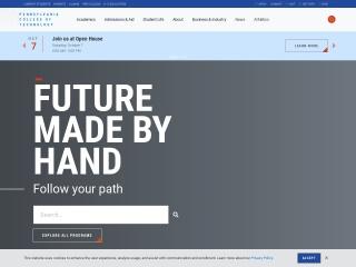 Screenshot for pct.edu