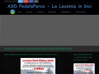 screenshot pedalaparco.it