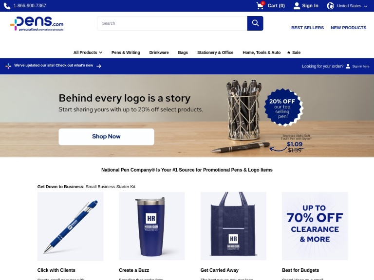 National Pen screenshot