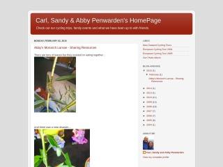 Screenshot for penwarden.co.nz