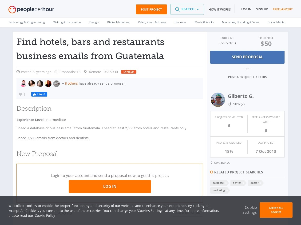 Find hotels, bars and restaurants business emails from Guatemala …