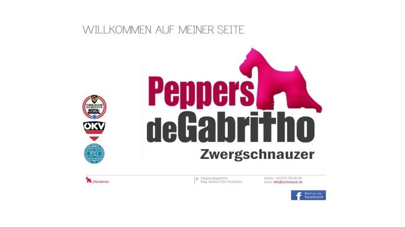 www.peppersdegabritho.at Vorschau, Pepper's de Gabritho