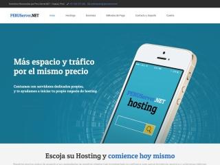 Captura de pantalla para peruserver.net