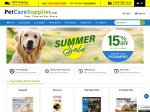 Pet Care Supplies Promo Codes & Promotional Codes