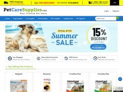 Pet Care Supplies screenshot