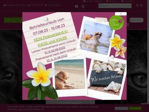 PETS BIO WORLD, Doris Weissengruber-Humer