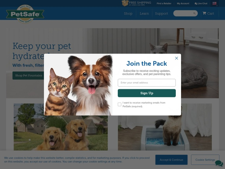 PetSafe screenshot