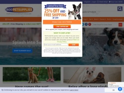 1-800-PetSupplies.com screenshot