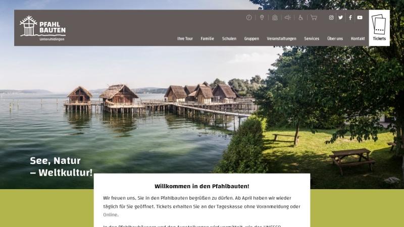 www.pfahlbauten.de Vorschau, Verein für Pfahlbau- und Heimatkunde e.V.