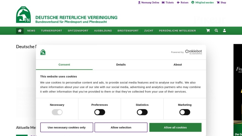 www.pferd-aktuell.de Vorschau, Deutsche Reiterliche Vereinigung (FN) e.V.