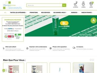 Capture d'écran pour pharmaservices.fr