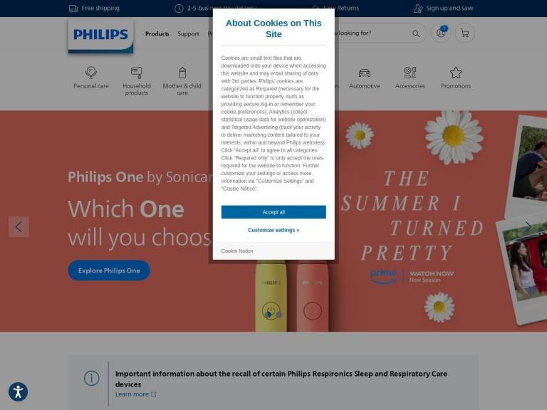 Philips screenshot