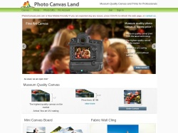 Photo Canvas Land screenshot