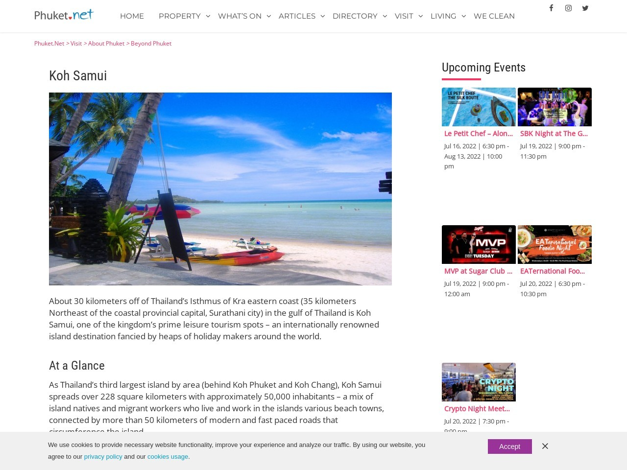 Koh Samui Island - Beyond Phuket - Phuket.Net