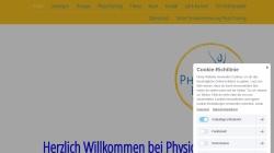 www.physio-baecker.de Vorschau, Frank Bäcker