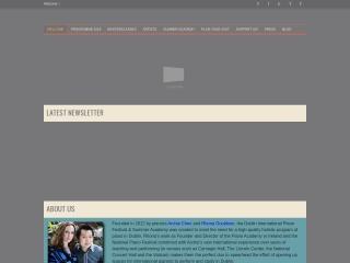 Screenshot for pianofestival.ie
