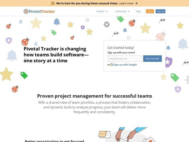 http://www.pivotaltracker.com/