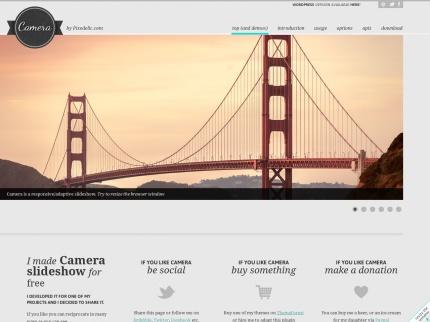 Camera slideshow