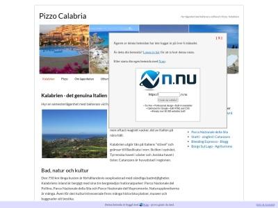 www.pizzocalabria.se