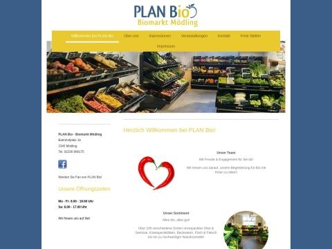 PLAN Bio - Biomarkt Mödling