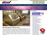 Milk Homogenizer Machine Price