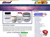 Ghee Plastic Packaging Container