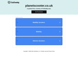Planetscooter.co.uk coupon codes April 2019