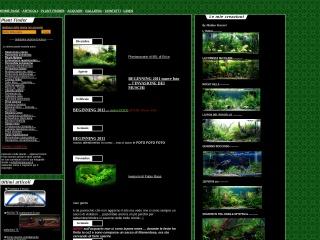 screenshot plantacquari.it