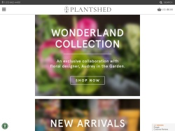 New York Flowers Plant Shed