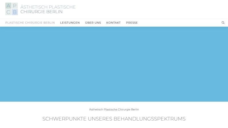 www.plastische-chirurgie-berlin.de Vorschau, Ästhetisch Plastische Chirurgie Berlin Praxis Dr. Kauder