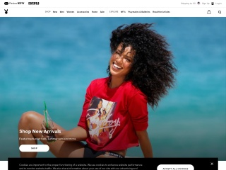 Screenshot for playboy.com