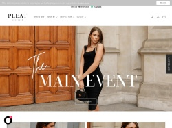 Pleat-boutique coupon codes January 2019