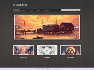 Skärmdump för ploopie.se
