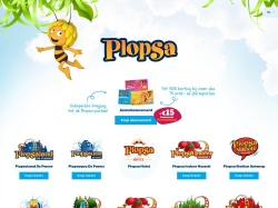 Plopsa.be/nl screenshot